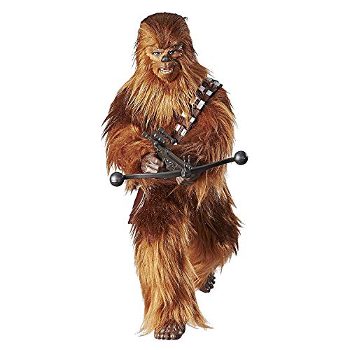 Star Wars Forces of Destiny Roaring Chewbacca Adventure Figure Toy - Sounds and Looks Just Like Real Chewy - Highly Poseable - Comes with Bandolier and Bowcaster - 12.5 inches Tall - Ages 4 and Up]()