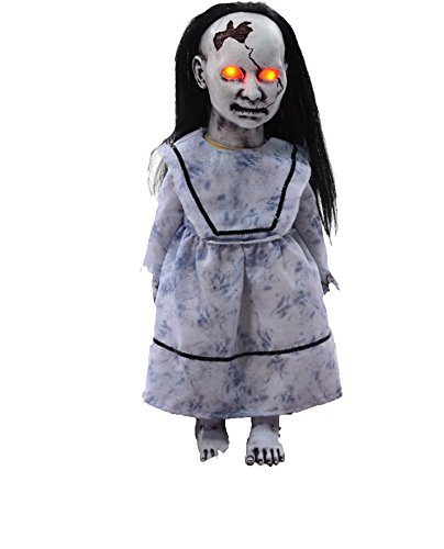 Graveyard Dolly Lunging Animated Prop - LUNGING GRAVEYARD BABY HALLOWEEN PROP Haunted
