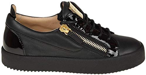 808833c1b9695 Giuseppe Zanotti Design Women's Rw70000002 Black Leather Sneakers ...