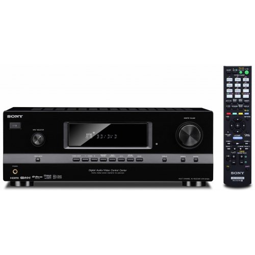Sony STRDH520 7.1 Channel 3D AV Receiver (Black) (Discontinued by Manufacturer) (Sony Av Receiver Wifi)