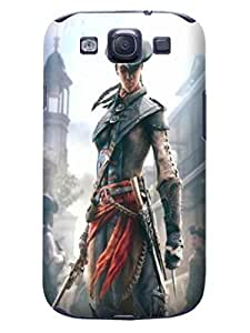 Cool Assassin's Creed fashionable Design Plastic TPU Case Cover for Samsung Galaxy s3