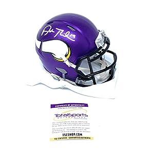 Adam Thielen Minnesota Vikings Signed Autograph Speed Mini Helmet Certified