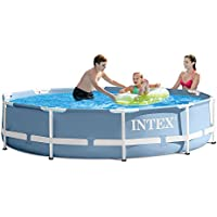 Intex 10ft X 30in Prism Frame Pool Set w/ Filter Pump