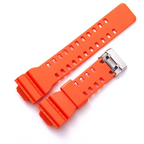 Genuine Resin Rubber Watchband Strap for Casio G-Shock GA-110 GA-120 GA-200 GW-8900 GA-150 GD-100 Series Orange G-shock