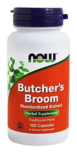 Butchers Broom Foods (NOW Foods - Butcher's Broom 200 mg. - 100 Capsules)