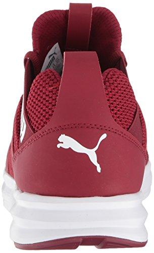 Men Enzo Pomegranate PUMA White Weave Sneaker puma 1qw1xdgU