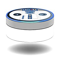 MightySkins Protective Vinyl Skin Decal for Amazon Echo Dot (1st Generation) wrap cover sticker skins Cyber Bot