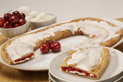 Baked Cherry Cheesecake - Cherry Cheesecake Kringle