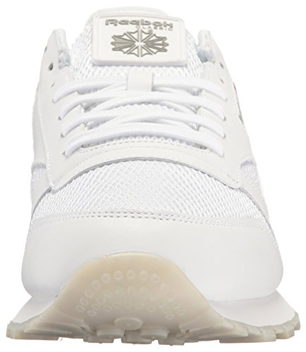 Sneaker Grey Snowy Leather Men's Carbon NM Classic gum Fashion Reebok White nxqSUXRUw