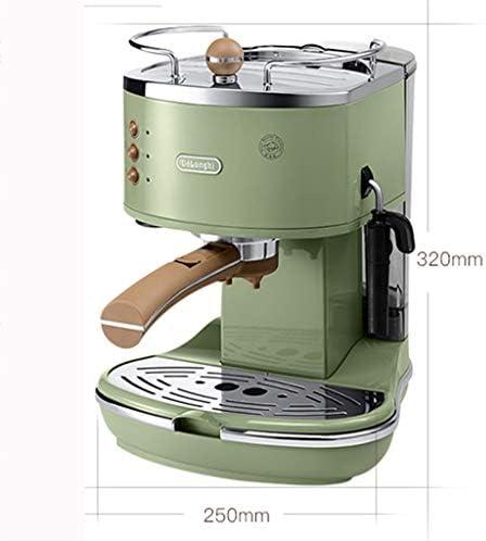 FYJK Retro Hervidor eléctrico, Acero Inoxidable, Retro Espresso ...