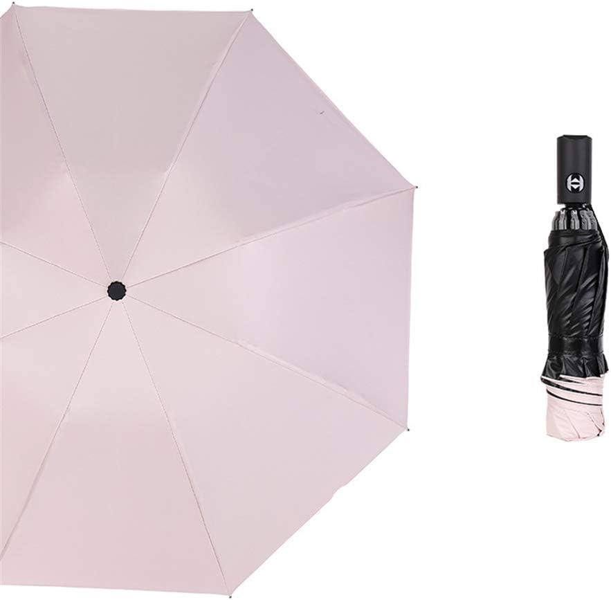 Comeyang Mini sombrilla, Paraguas de Viaje portátil, protección UV ...