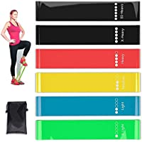Jasonwell Resistance Loop Bands, Resistance Exercise Bands for Home Fitness, Crossfit, Stretching, Strength Training…