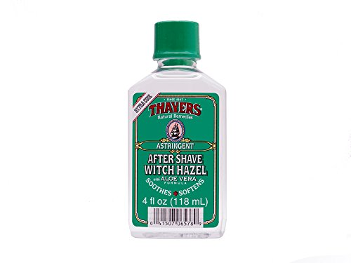 Thayers After Shave Witch Hazel Aloe Vera Formula Astringent, 4 Fluid Ounce