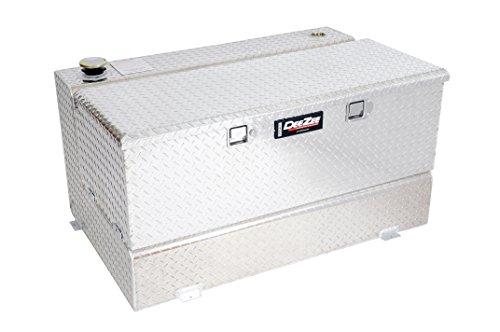 Dee Zee DZ91741X (80 gallon) Auxiliary Diesel Combo Transfer Tank & Tool Box - Aluminum