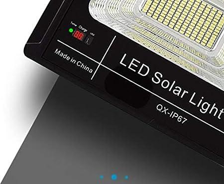 Q-fo Focos Proyector Solar Exterior, Farola Impermeable, Focos ...