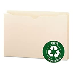 SMD75607 - Smead 75607 Manila 100% Recycled File Jackets