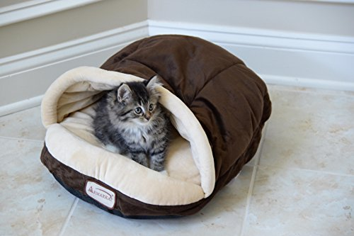 Armarkat Slipper Shape Pet Bed, Mocha, ()