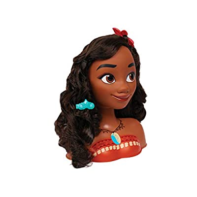 Disney Moana Styling Head, 14 pieces: Toys & Games
