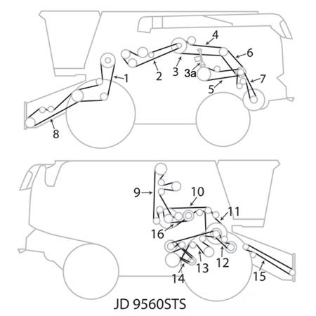 John Deere 3010 Light Wiring Diagram