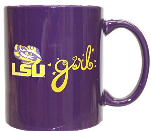 bbsports LSU Tigers Purple LSU Girl 12oz Mug