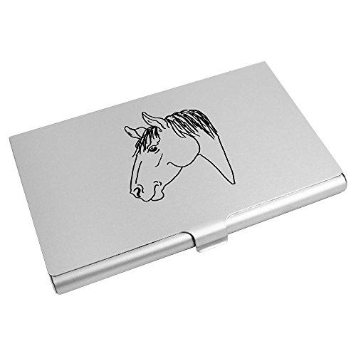 Credit Head' Wallet Business Card 'Horse CH00013073 Card Azeeda Holder w50vqXxnvF