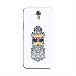 Cover It Up - Hipster Yogi Lenovo ZUK Z1 Hard Case