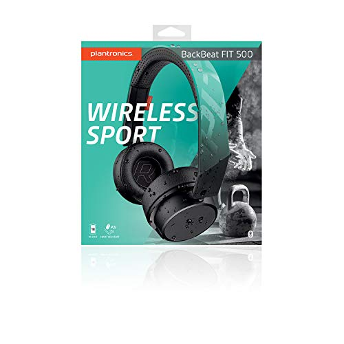 Plantronics BackBeat FIT 500 On-Ear Sport Headphones, Wireless Headphones with Sweat-Resistant Nano-Coating Technology by P2i, Teal by Plantronics (Image #5)