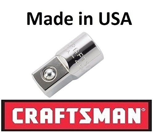 Craftsman 9-04258 3/8 female X 1/2 male 3/8 Drive Adapter, Made in USA