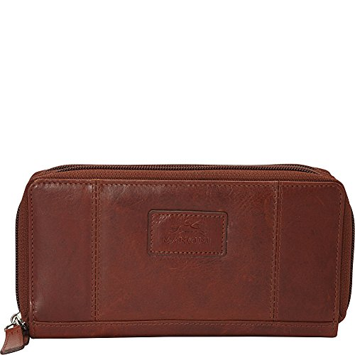 mancini-leather-goods-ladies-rfid-double-zipper-clutch-wallet