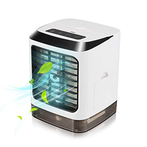 Wilove Portable Desk Arctic Air Conditioner Mini Air Cooler Humidifier Space Cooling Fans
