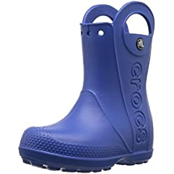 crocs Kids Handle It Rain Boot (Toddler/Little Kid),Sea Blue,9 M US Toddler