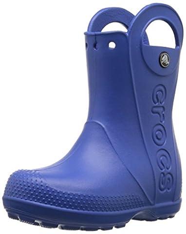 crocs Kids Handle It Rain Boot (Toddler/Little Kid),Sea Blue,1 M