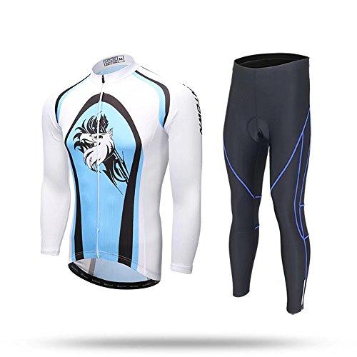 不利組立マインドKayiyasuカイヤス 裏起毛 サイクルジャージ 長袖 メンズ サイクリングジャージ 冬 サイクルウェア 自転車ウェア サイクリングウェア 上下セット 019-xhyd-17xtmwbkzt(XXXL 色5 )