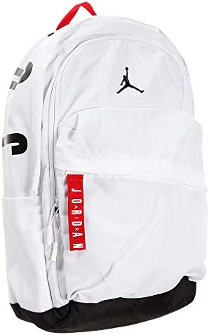 バスケットボール バックパック ナイキ ジョーダン AIR PATROL PACK 9A0172-001 WHT