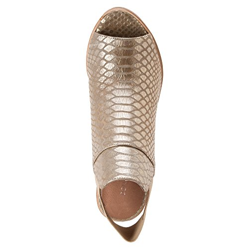 Donald J Pliner - Sandalias de vestir para mujer Platino Metallic Snake Print