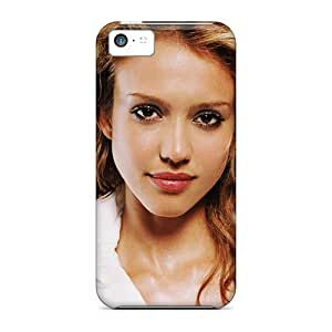 New Style Cases Covers Bun885MYiu Jessica Alba Hd Compatible With Iphone 5c Protection Cases
