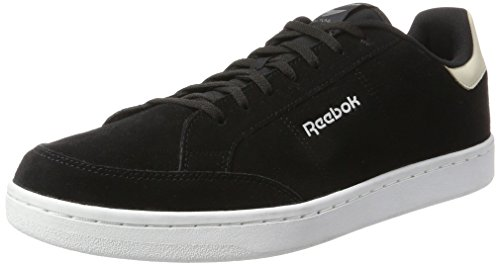 Reebok Royal Smash SDE, Chaussures de Fitness Homme Noir (Black/Stucco/Alloy/White/Silver)