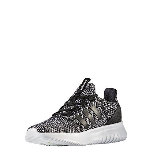 cheap for discount a211a 03d8d adidas NEO Womens Cloudfoam Ultimate W Sneaker,BLACKBLACKWHITE,7.5 Medium
