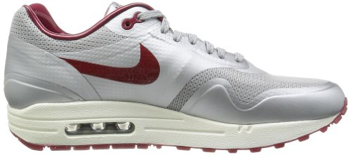 Nike Air Max 1 HYP QS Mens Running Shoes Silver discount clearance store NLGggl