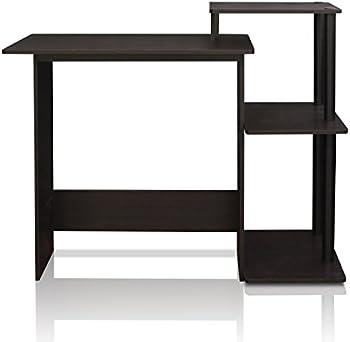 Furinno 11192EX/BK Efficient Computer Desk