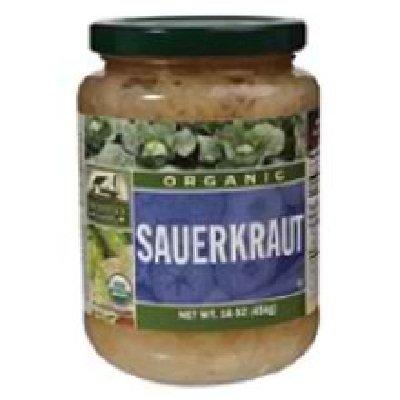 Woodstock Farms Organic Sauerkraut, 16 Ounce - 12 per case.