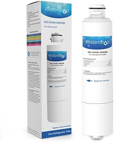 Waterdrop DA29-00020B Replacement for Samsung DA29-00020B, HAF-CIN/EXP, 46-9101 Refrigerator Water Filter