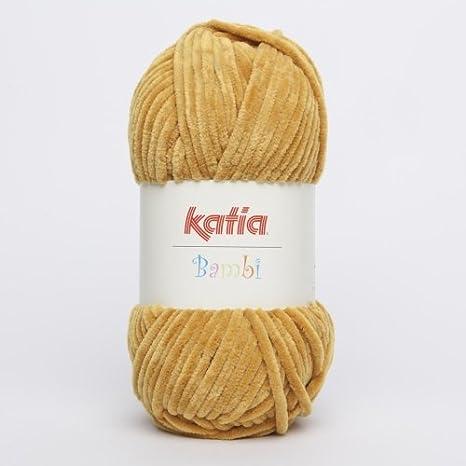 NARANJA 120 m Wolle BAMBI von Katia 313 - 100 g // ca