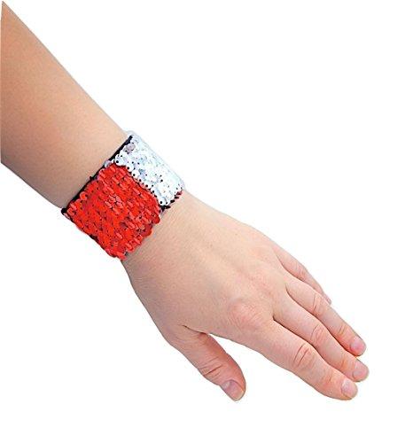 Sparklee Me Mermaid Sequin Color Changing Reversible Bracelet/Elegant Adjustable ()