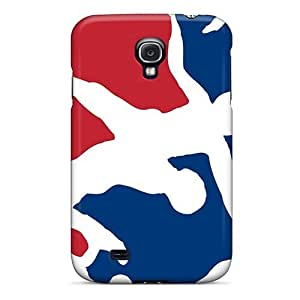 SXuPMUQ5301dplrM Case Cover Protector For Galaxy S4 Usa Wrestling Logo Case