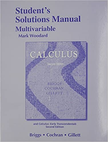 Calculus Early Transcendentals 2nd Edition Pdf Briggs