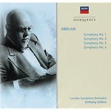 Sibelius: Symphonies Nos. 1, 2, 3 & 4