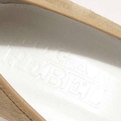 Rebel Zeppa 42742 spuntato Beige Scarpa Hogan Women Shoes Donna Decollete p4HqAAxWf