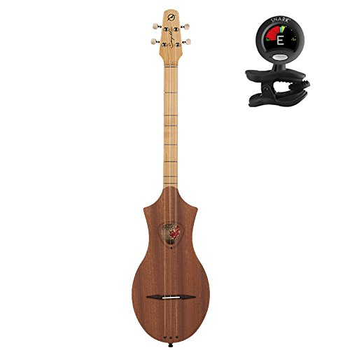 Seagull Merlin Natural Mahogany SG With Snark Clip On Tuner (039098) by Seagull