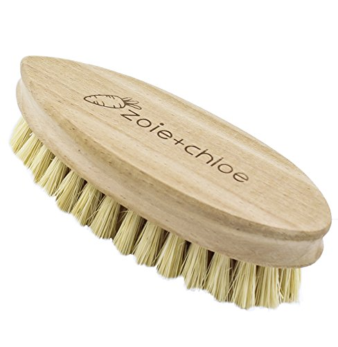 Zoie + Chloe 100% Natural Plant-Fiber Soft Bristles Vegetable Brush